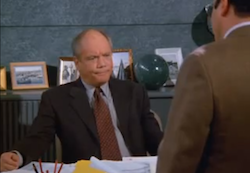 Seinfeld bad boss Mr. Kruger