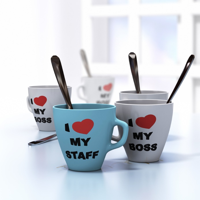employee engagement mugs