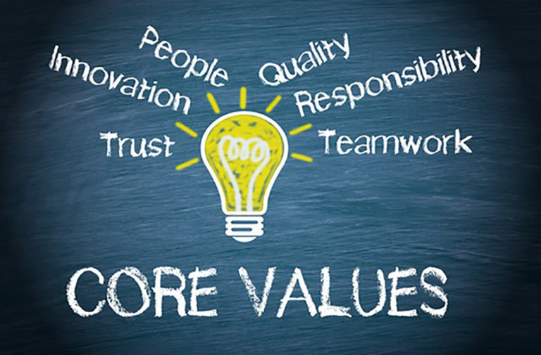 Are You Living Your Company Values?