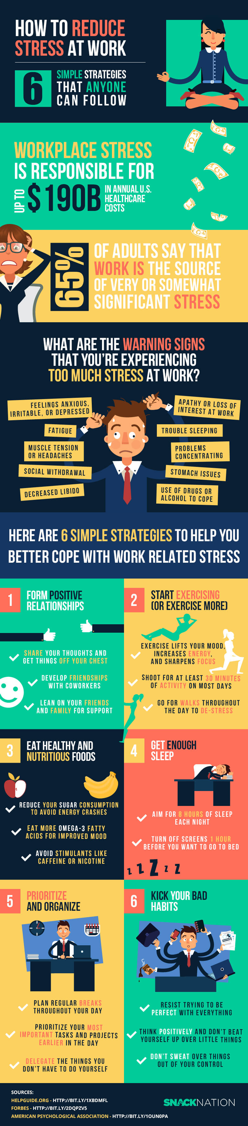 snacknation how to deal with stress