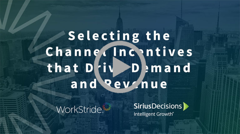 Selecting the Channel Incentives that Drive Demand and Revenue