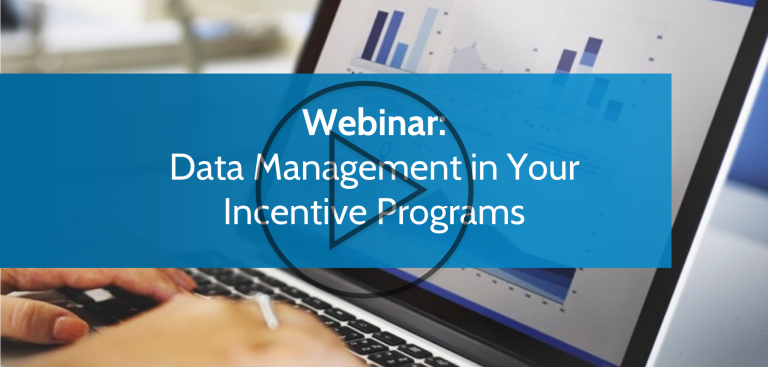 Data Management in Your Incentive Programs