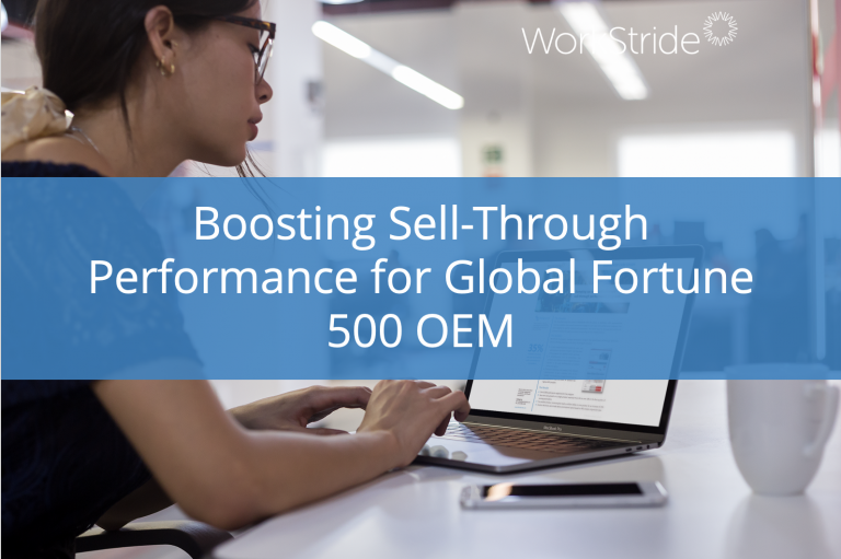 Boosting Sell-Through Performance for Global Fortune 500 OEM