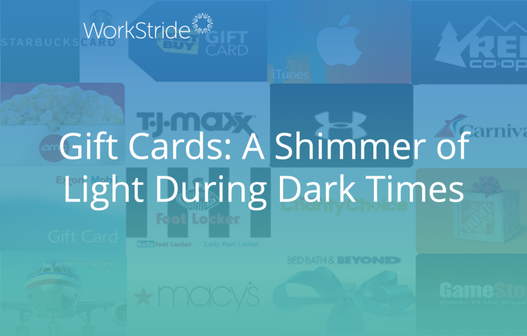 Gift Cards: A Shimmer of Light During Dark Times