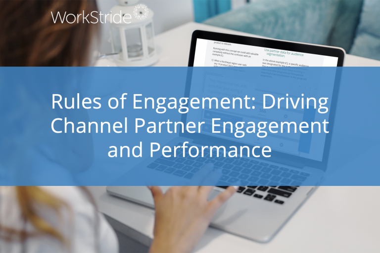 Rules of Engagement: Driving Channel Partner Engagement and Performance