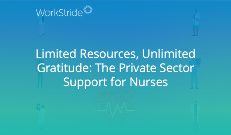 Limited Resources, Unlimited Gratitude: The Private Sector Support for Nurses