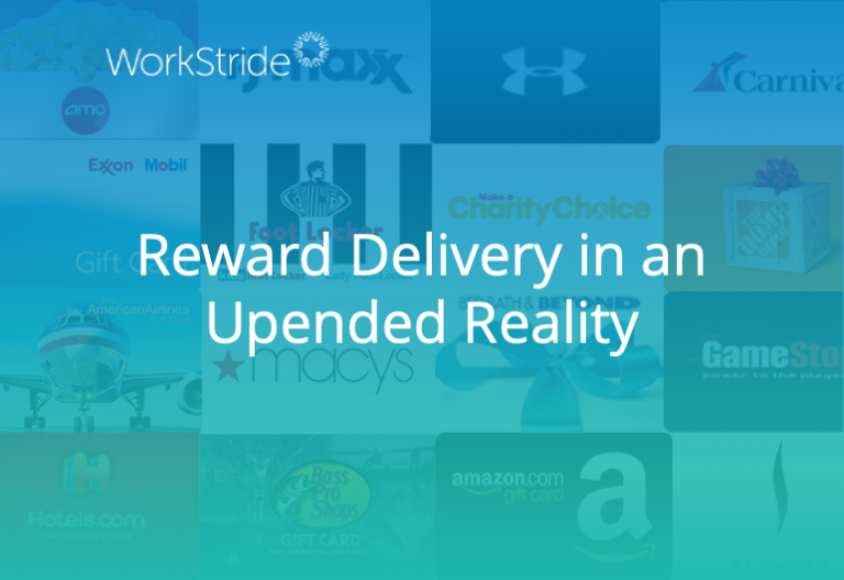 Reward Delivery in an Upended Reality