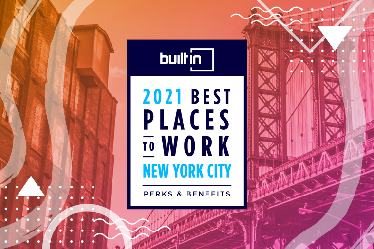 WorkStride Honored in Built In's Esteemed 2021 Best Places To Work Awards